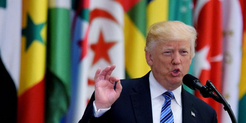7 Moments from Trump's Speech in Saudi Arabia