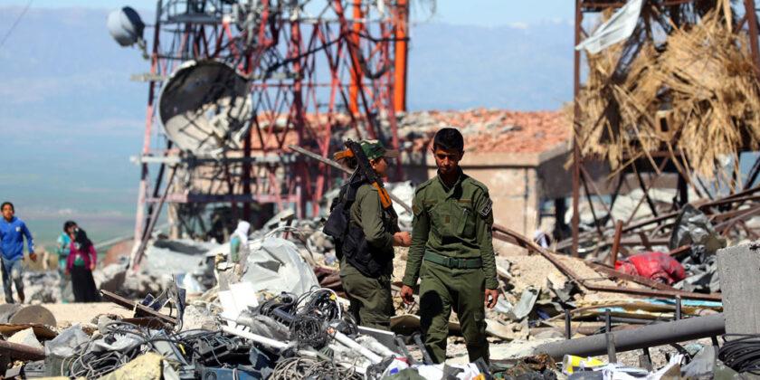 Syrian Christian Militia Condemns Turkey for Bombing Kurds